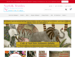 shop.norfolktextiles.co.uk screenshot
