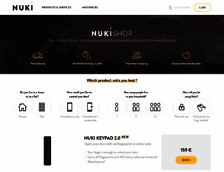shop.nuki.io screenshot