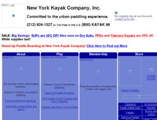 shop.nykayak.com screenshot