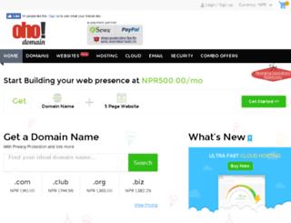 shop.ohodomain.com screenshot