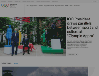 shop.olympic.org screenshot