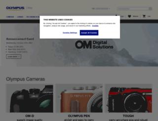 shop.olympus.co.uk screenshot