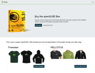 shop.opensuse.org screenshot