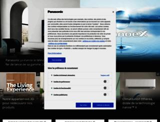 shop.panasonic.fr screenshot
