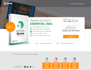 shop.pandasoftware.com screenshot