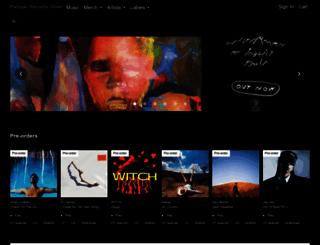 shop.partisanrecords.com screenshot