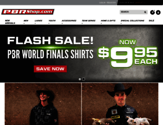 shop.pbr.com screenshot