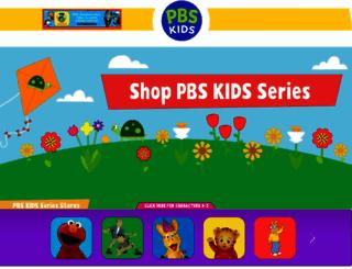 shop.pbskids.org screenshot