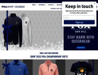 shop.pga.com screenshot
