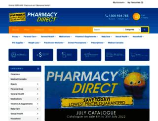 shop.pharmacydirect.com.au screenshot