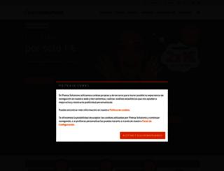 shop.piensasolutions.com screenshot
