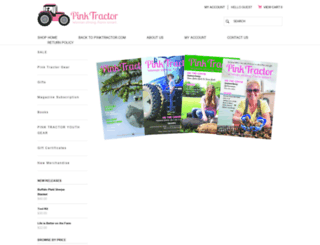 shop.pinktractor.com screenshot