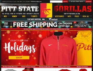 shop.pittstategorillas.com screenshot