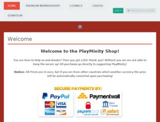 shop.playminity.com screenshot