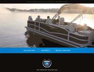 shop.pontoons.com screenshot