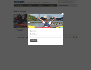 shop.potomacpaddlesports.com screenshot