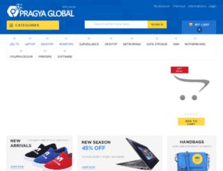 shop.pragyaglobal.com screenshot