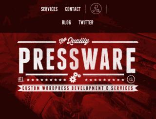 shop.pressware.co screenshot