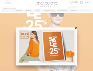 shop.prettyone.pl screenshot