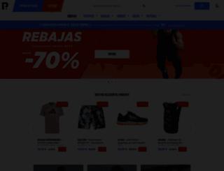 shop.privatesportshop.es screenshot