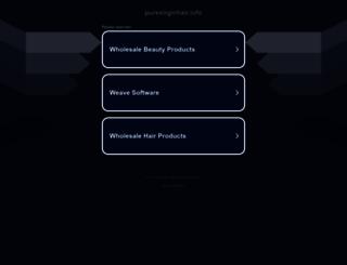 shop.purevirginhair.info screenshot