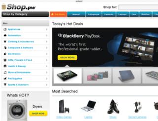 shop.pw screenshot