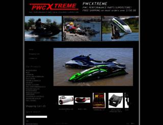 shop.pwcxtreme.com screenshot