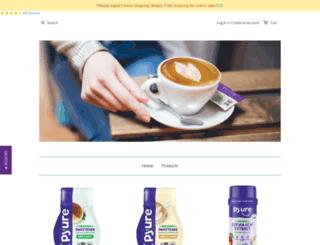 shop.pyuresweet.com screenshot
