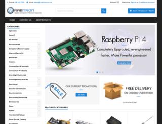 shop.rabtron.co.za screenshot