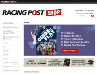 shop.racingpost.com screenshot