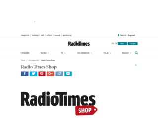 shop.radiotimes.com screenshot