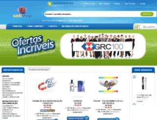 shop.recargaecapital.com.br screenshot