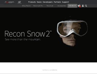 shop.reconinstruments.com screenshot