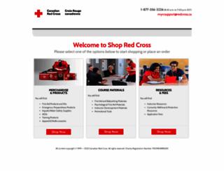 shop.redcross.ca screenshot