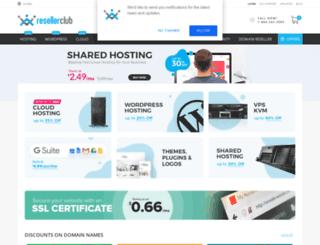 shop.resellerclub.com screenshot