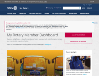 shop.rotary.org screenshot