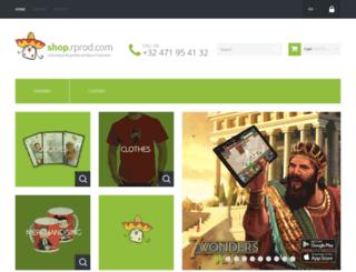 shop.rprod.com screenshot