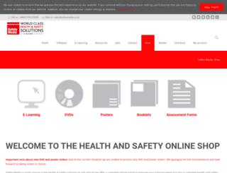 shop.safetymedia.co.uk screenshot