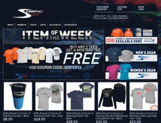 shop.sebringraceway.com screenshot