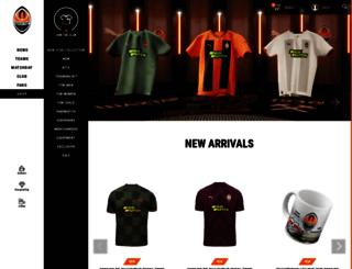 shop.shakhtar.com screenshot