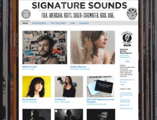 shop.signaturesounds.com screenshot