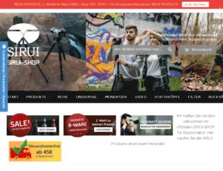 shop.sirui.de screenshot