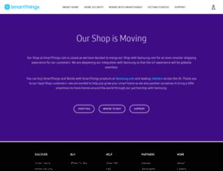 shop.smartthings.com screenshot