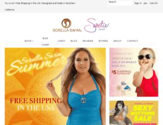 shop.sorellaswim.com screenshot