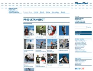 shop.spanset.de screenshot