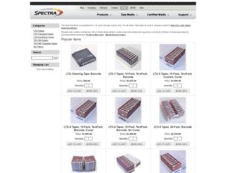 shop.spectralogic.com screenshot