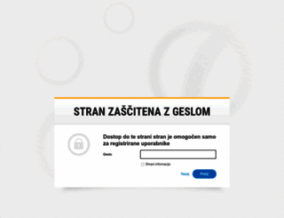 shop.spletnisistemi.si screenshot