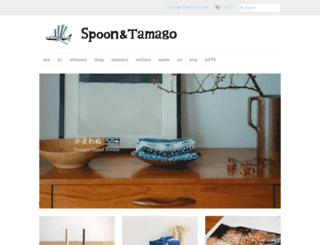 shop.spoon-tamago.com screenshot