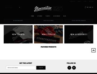 shop.stancenation.com screenshot