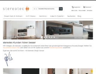 shop.stereotec.ch screenshot